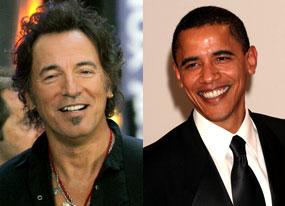 Bruce Springsteen, Barack Obama