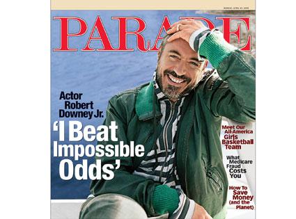 Robert Downey Jr., Parade Magazine