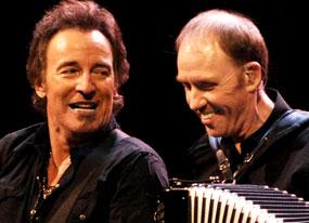 Danny Federici, Bruce Springsteen