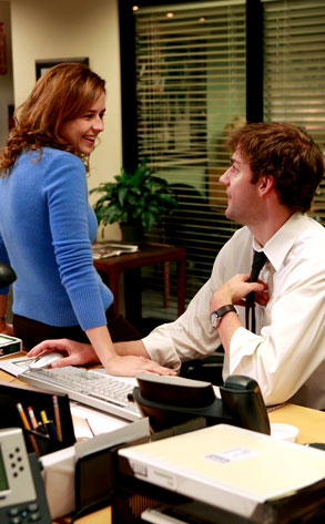 John Krasinski, Jenna Fischer, The Office
