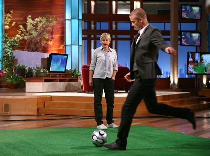 Ellen DeGeneres, David Bekcham