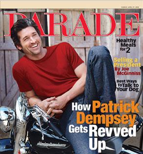 Patrick Dempsey, Parade Magazine