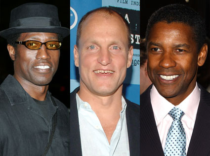 Wesley Snipes, Woody Harrelson, Denzel Washington