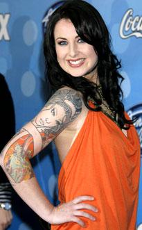 Carly Smithson, American Idol: Season 7