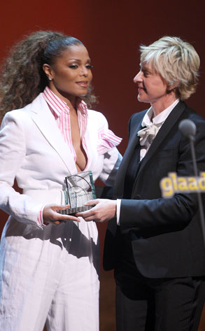 Janet Jackson, Ellen Degeneres