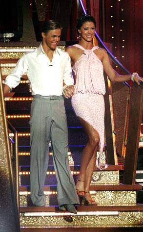 Shannon Elizabeth, Derek Hough, Dancing with the Stars