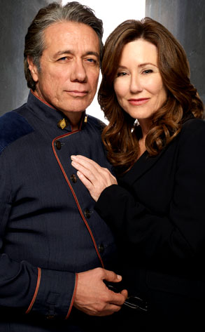 Mary McDonnell, Edward James Olmos, Battlestar Galactica