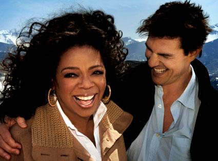 Tom Cruise, Oprah Winfrey