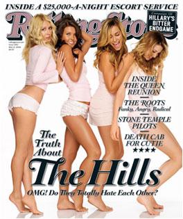 """Heidi Montag, Audrina Patridge, Lauren Conrad, Lauren """"Lo"""" Bosworth, Rolling Stone Magazine"""