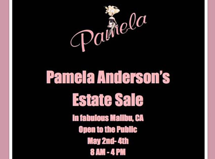 Pamela Anderson, Estate Flyer