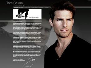 Tom Cruise Website