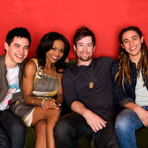 American Idol Season 7: Top 4 (David Archuleta, David Cook, Jason Castro, Sayesha Mercado)