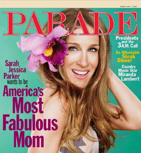 Sarah Jessica Parker, Parade Magazine