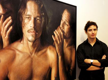 Heath Ledger Portrait by Vincent Fantauzzo