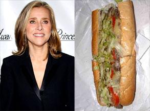 Meredith Viera, Hoagie sandwich
