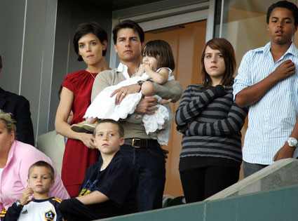 Tom Cruise, Katie Holmes, Suri Cruise, Romeo Beckham, Cruz Beckham, Isabella Kidman-Cruise, Connor Kidman-Cruise