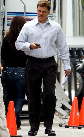 Matt Damon, The Informant