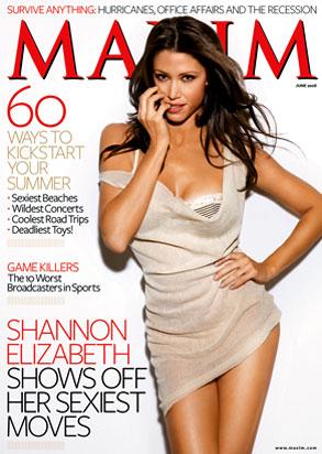 Shannon Elizabeth, Maxim Magazine