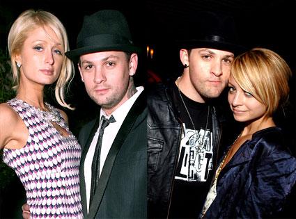 Paris Hilton, Benji Madden, Nicole Richie, Joel Madden