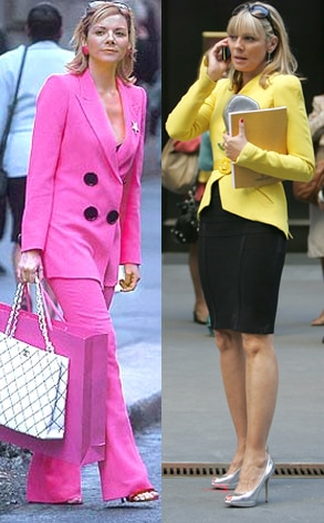 Sex and the City, Kim Cattrall before and after