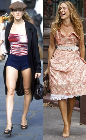 Sex and the City, Sarah Jessica Parker before and after