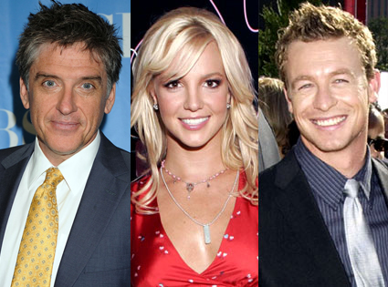 Craig Ferguson, Britney Spears, Simon Baker