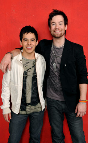 David Archuleta, David Cook, American Idol: Season 7