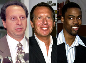 Anthony Pellicano, Garry Shandling, Chris Rock