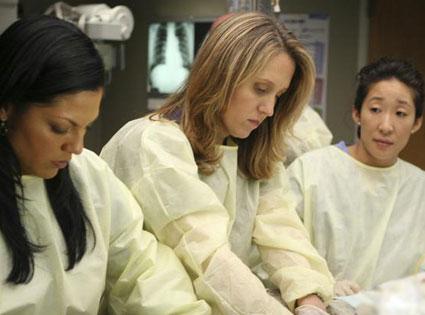 Sara Ramirez, Brooke Smith, Sandra Oh, Grey's Anatomy