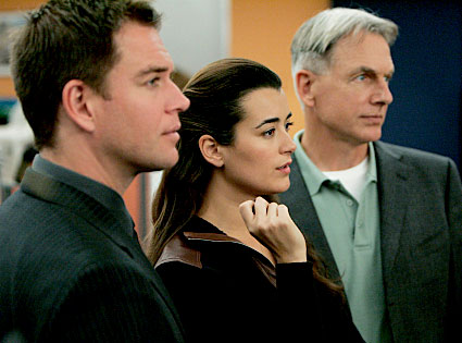 Michael Weatherly, Cote de Pablo, Mark Harmon, NCIS