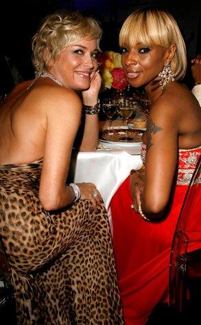 Sharon Stone, Mary J. Blige
