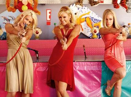 Holly Madison, Bridget Marquardt, Kendra Wilkinson (Girls Next Door), Funplex