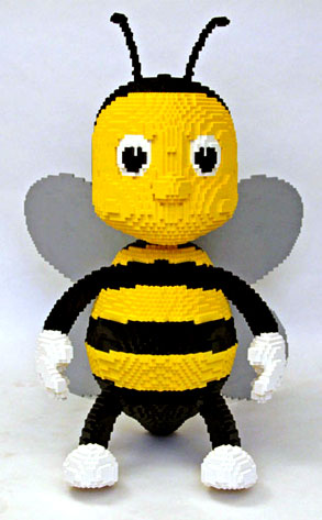 Bumble Bee LEGO Sculpture