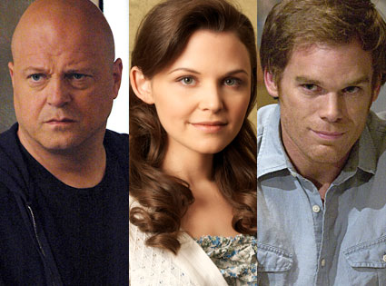 Michael Chiklis (The Shield), Ginnifer Goodwin (Big Love), Michael C. Hall (Dexter)