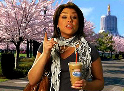 Rachael Ray, Dunkin' Donuts ad