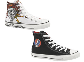 Grateful Dead Sneakers from Converse