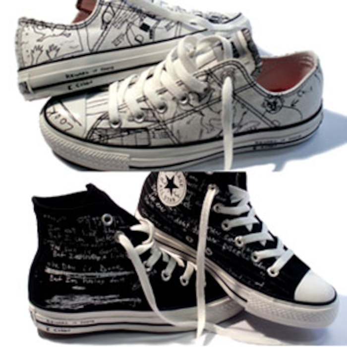505b3c80cca7 Cobain-Inspired Converses Court Controversy