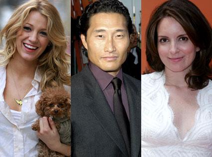Blake Lively, Daniel Dae Kim, Tina Fey