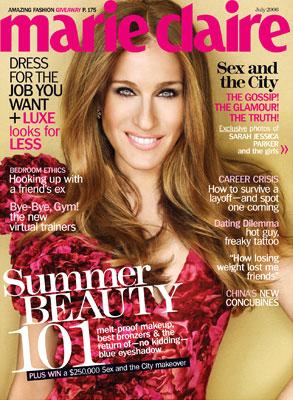 Sarah Jessica Parker, Marie Claire Magazine