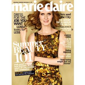 Cynthia Nixon, Marie Claire Magazine