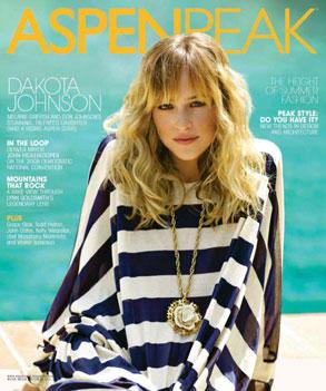 Dakota Johnson, Aspen Peak Magazine
