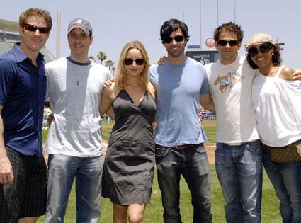 My Boys Cast, Jamie Kaler, Michael Bunin, Jordana Spiro, Reid Scott, Kyle Howard, Kellee Stewart