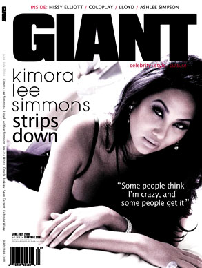 Kimora Lee Simmons, Giant Magazine