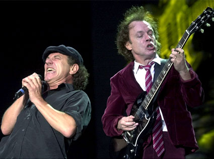 Brian Johnson, Angus Young, AC/DC