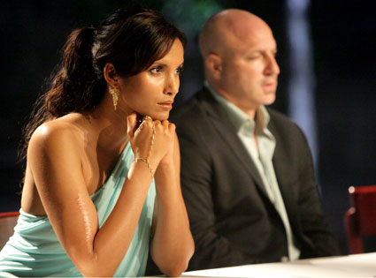 Padma Lakshmi, Tom Colicchio, Top Chef Season 4