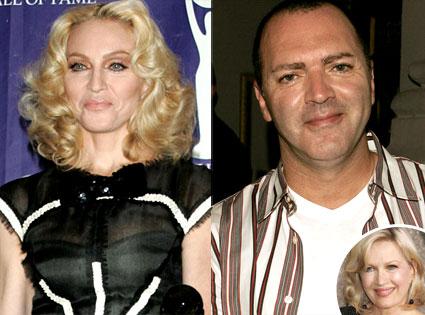 Madonna, Christopher Ciccone, Diane Sawyer