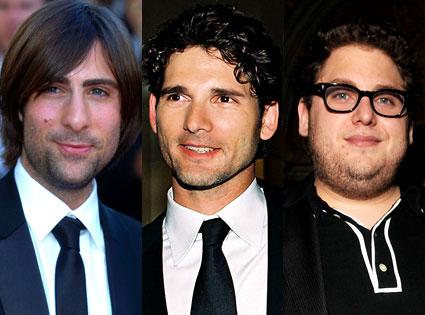 Jason Schwartzman, Eric Bana, Jonah Hill