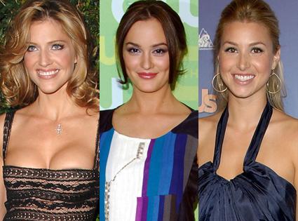 Tricia Helfer, Leighton Meester, Whitney Port