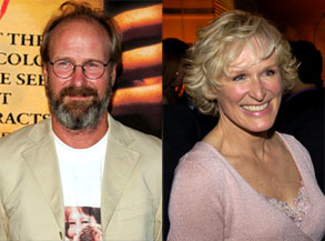 William Hurt, Glenn Close