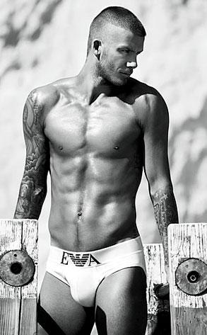 David Beckham, Giorgio Armani ad